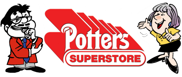 Potters Superstore client logo
